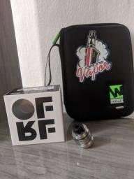 Vendo Atomizador RTA GEAR OFRF + kit de ferramenta.