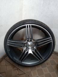 Rodas aro 20 com pneus 5x114