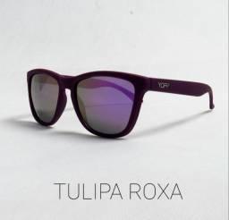 Óculos de sol - Modelo Tulipa Roxa
