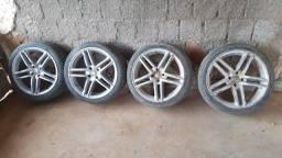 Rodas 17 pneus novos venha conferir