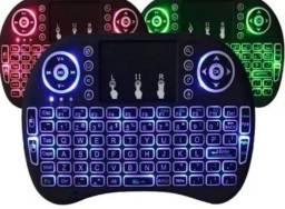 Mini teclado recarregável para TV Box