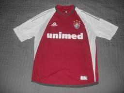 Camisa Fluminense Adidas Grená Unimed  16 de Jogo Raríssima cbcfc3e78f29d