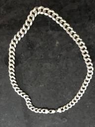 Cordão de prata 925 - 132 gramas