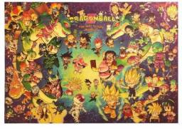 Poster Dragon Ball diversos modelos