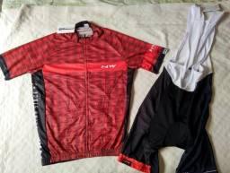 Conjunto uniforme ciclismo e montain bike. Uniformes novos.