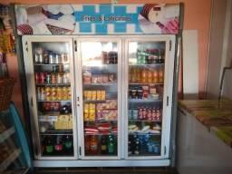 Vendo freezer auto serviço três portas