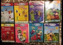 Teletubbies dvd em inglês