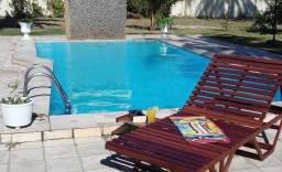 Casa com piscina muito aconchegante