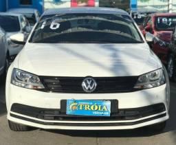 Vw - VolksWagen Jetta Trendline TSI 1.4. Entrada a partir de 1 Mil + Fixas de 943,00 - 2016