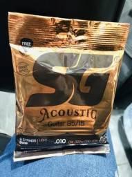 Encordoamento violão SG 010