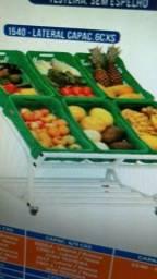 Expositor de Frutas / Vasca Verdureiro / Balcão para colocar Futas