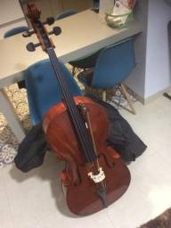 Violoncello Alan AL-1210 + Bag preta