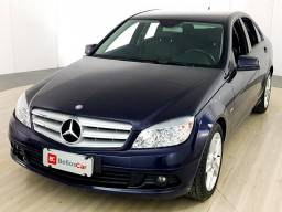 Mercedes C180 cgi - Azul - 2011 - 2011