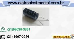 Capacitor Eletrolítico 220uf X 160v - Kit Com 10 Unidades