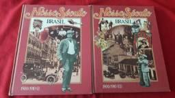 2 Livros: Nosso Século Brasil 1900/1910 ( 1 e 2)