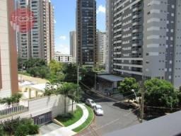 Apartamento com 3 dormitórios para alugar, 122 m² por r$ 1.800/mês - bosque das juritis -