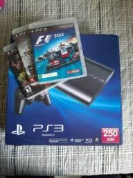 Playstation 3 + 3 jogos
