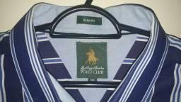 Camisa social da polo club