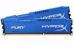 Memória Gamer Kingston Fury Hyperx Ddr3 4Gb 1600 Mhz