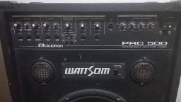 Caixa Amplificada Multiuso Wattson/Ciclotron PRC-500