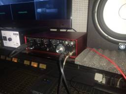 Interface De Audio Scarlett 18i8 Focusrite 2 Geração