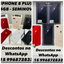Apple iPhone 8 plus - *Seminovos*, compre com quem entende de celular!