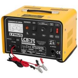 Carregador de Bateria Lynus LCB-25, 12 / 24V, 25 Amperes, 220V