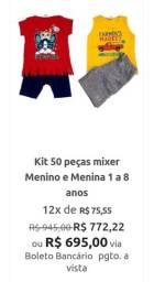 Kit infantil feminino e masculino