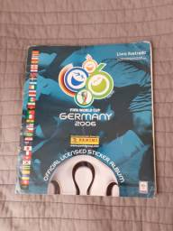 Álbum da copa 2006 completo futebol Alemanha