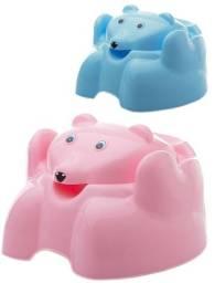 Troninho / pinico - Urso Azul e Rosa