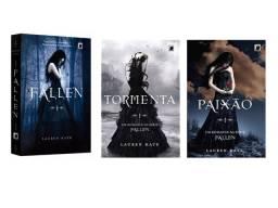 Livros Série Fallen - Fallen + Tormenta + Paixão