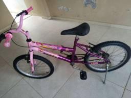 ? OPORTUNIDADE ? Bicicleta feminina infantil