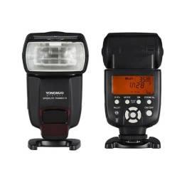 Flash yn-565ex lll compatível com Canon