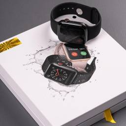 Smartwatch iwo 13 Lançamento 44mm Série 6   Nota Fiscal