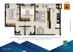 Construção da Canopus- Condomínio Vilage Brasil 3, 2 Quartos