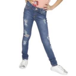 Calça Jeans Skinny Colcci Fun- Tamanho 6 anos