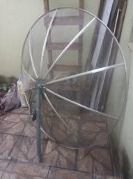 Antena parabólica completa
