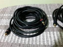 Título do anúncio: Dupla de fios para conexão.