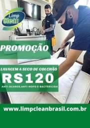 Promo LimpClean, colchões