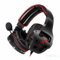 Headfone Gamer 7.1 Surround Drive Microfone Flexível Hf-g650