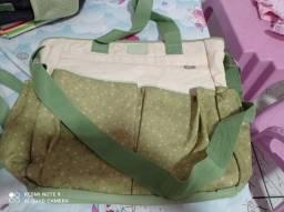 Bolsa mamãe BB (Verde) e bolsa Dove baby (amarela)