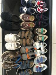 Lote calçado infantil menino