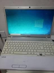 Título do anúncio: Notebook Sony Vaio VPCEB1J1E
