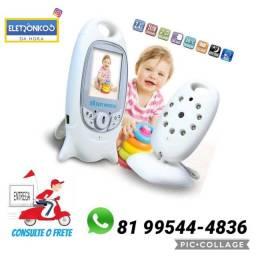 Título do anúncio: Babá Eletrônica Baby Monitor Digital Bebê Visão Noturna so  zap