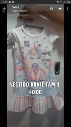 Lote de roupas de marcas variadas Lilica ripilica original , kukie, Milon, infantil etc