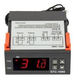 Título do anúncio: Termostato Stc 1000 Controlador De Temperatura 110 220v