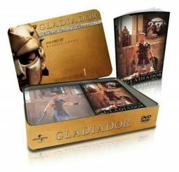 Box DVD Gladiador - Edição Especial - Item Colecionador