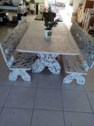 mesa de pedra ardosia