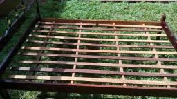 Cama de casal madeira maciça - Dourados MS