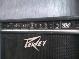 Caixa amplificada peaver kb100 teclado voz violão